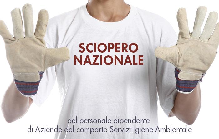 SCIOPERO NAZIONALE